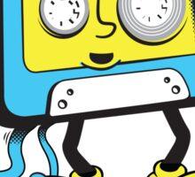 cassette poop Sticker