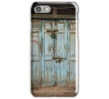 Rajasthan Door #2 iPhone Case/Skin