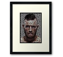 Conor Mcgregor, The Notorious (Superimposed) Framed Print