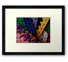 Knit One Framed Print