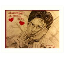 Mohabbatein-It's all about Love Art Print