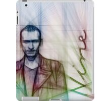 The Ninth Doctor, Doctor Who Chris Eccleston  iPad Case/Skin