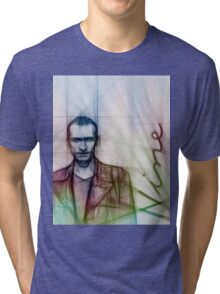 The Ninth Doctor, Doctor Who Chris Eccleston  Tri-blend T-Shirt