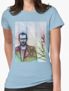 The Ninth Doctor, Doctor Who Chris Eccleston  Womens Fitted T-Shirt