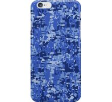 Bluer than Blue Paintball Digital Camouflage iPhone Case/Skin