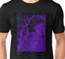 USGS TOPO Map New Jersey NJ Five Points 254370 1956 24000 Inverted Unisex T-Shirt
