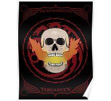 Valar Morghulis - Targaryen Poster