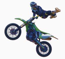 Motocross Aerial Stunt-rider II Kids Tee