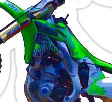 Motocross Aerial Stunt-rider II Sticker