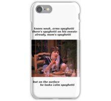 eminem meets spaghetti iPhone Case/Skin