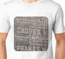 Ghost Sign and Sign Unisex T-Shirt