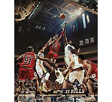 Basketball Art Photographic Print