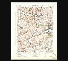 USGS TOPO Map New Jersey NJ Raritan 255070 1943 31680 Unisex T-Shirt