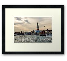 Impressions of Venice - Approaching St Marks on the Vaporetto Framed Print