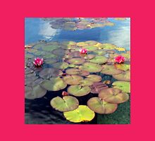 Pink Water Lilies at Sunset  T-Shirt