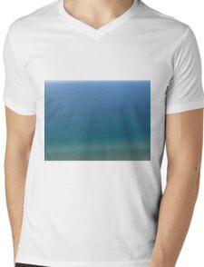 Lake Michigan Blue Mens V-Neck T-Shirt