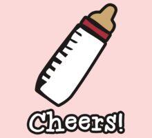 Baby Bottle Cheers! Kids Tee