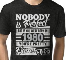 1980 Tri-blend T-Shirt