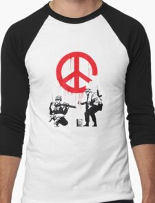 Banksy Soldiers Men's Baseball ¾ T-Shirt