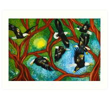 Stanley Park Eagle Spottings Art Print