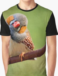 Bird Art - Change Your Opinions Graphic T-Shirt