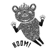 Boom Bear Photographic Print