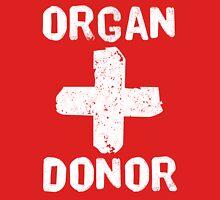Organ Donor White Unisex T-Shirt