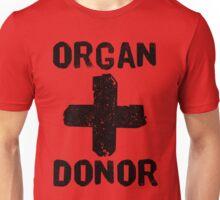 Organ Donor Black Unisex T-Shirt
