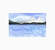 Abraham Lake - Watercolor Painting Unisex T-Shirt