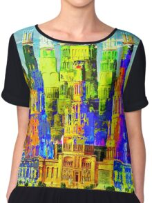 IN THE MERRY OLD LAND OF OZ: American Monument Nr. 8 Chiffon Top