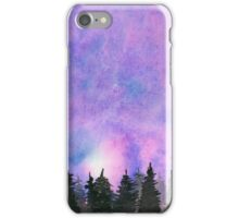 Abstract Forest - Watercolor Painting iPhone Case/Skin