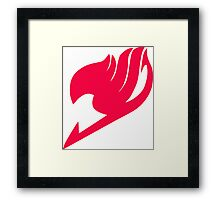 Guild Emblem Fairy Tail Framed Print