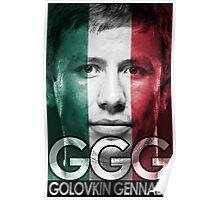 Golovkin Support Poster