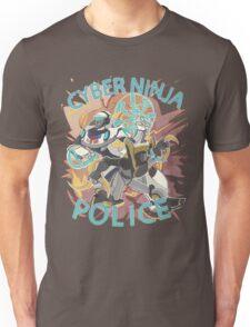 Cyber ninja police Unisex T-Shirt