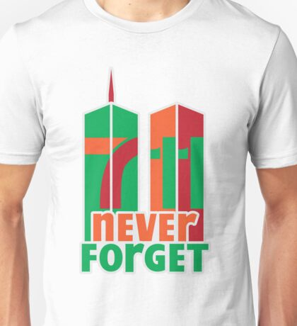 7-11 Never Forget Unisex T-Shirt