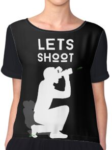 Let's Shoot Chiffon Top
