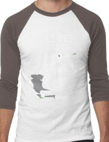 Let's Shoot Men's Baseball ¾ T-Shirt