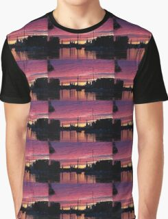 Of Yachts and Skylines Graphic T-Shirt