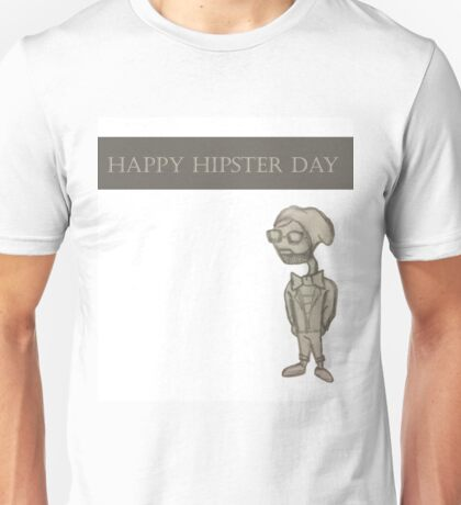 Happy Hipster Day Unisex T-Shirt