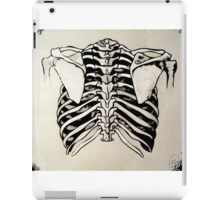 Back of Ribcage iPad Case/Skin