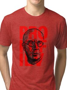 Prokofiev in red and black Tri-blend T-Shirt