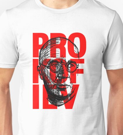 Prokofiev in red and black Unisex T-Shirt