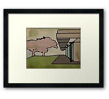 Modern House #3 Framed Print