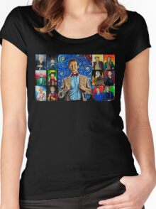 The Doctor of the Universe - The Promise Women's Fitted Scoop T-Shirt