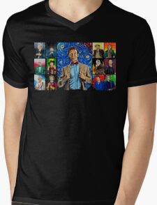 The Doctor of the Universe - The Promise Mens V-Neck T-Shirt