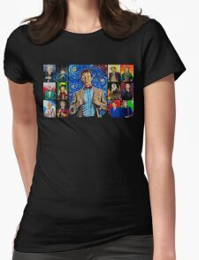 The Doctor of the Universe - The Promise Womens Fitted T-Shirt
