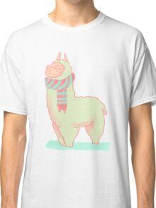 Hipster Llama Classic T-Shirt