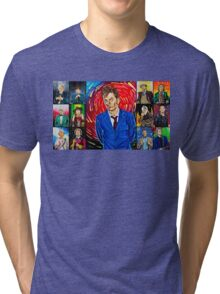 The Doctor of the Universe - The Hero Tri-blend T-Shirt