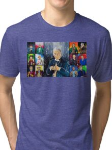 The Doctor of the Universe - The First Tri-blend T-Shirt