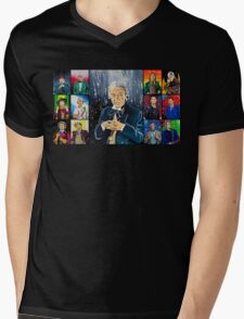 The Doctor of the Universe - The First Mens V-Neck T-Shirt